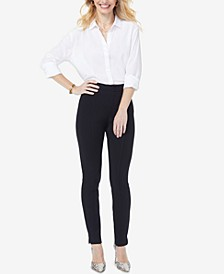 Tummy-Control Ponte Ankle Pants, In Regular & Petite Sizes