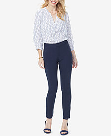 NYDJ Tummy-Control Ponte Ankle Pants