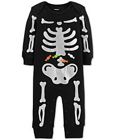 Carter's Baby Boys & Girls Cotton Skeleton Coverall