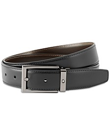 Men's Reversible Leather Belt
