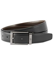 Men's Reversible Leather Belt