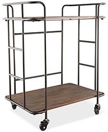 Thirstystone Farmhouse Bar Cart