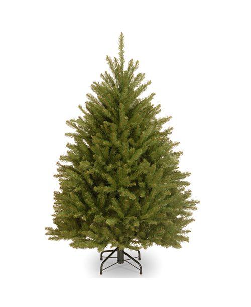 National Tree Company National Tree 4 .5' Dunhill Fir Hinged Tree