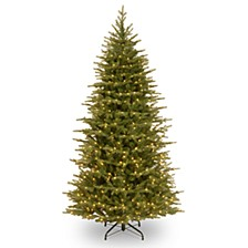 6 .5' Feel Real  Nordic Spruce Slim Hinged Tree with 500 Dual Color  LED Lights