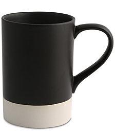 Thirstystone Black 16 Ounce Ceramic Mug
