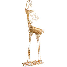 "National Tree 51"" Rattan Reindeer"