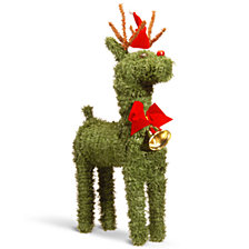 "National Tree 16"" Evergreen Reindeer"