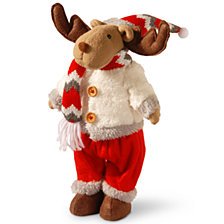 "National Tree 12"" Holiday Reindeer"