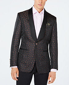 Tallia Men's Slim-Fit Leopard Print Sport Coat