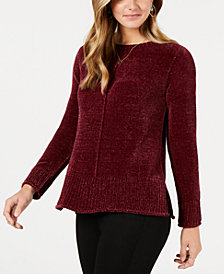 Style & Co Petite Chenille Sweater, Created for Macy's