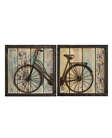 2 Rustic Bicycle