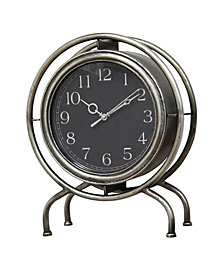 Stratton Home Decor Gamma Table top Clock