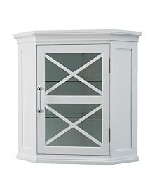 Blue Ridge Corner Wall Cabinet