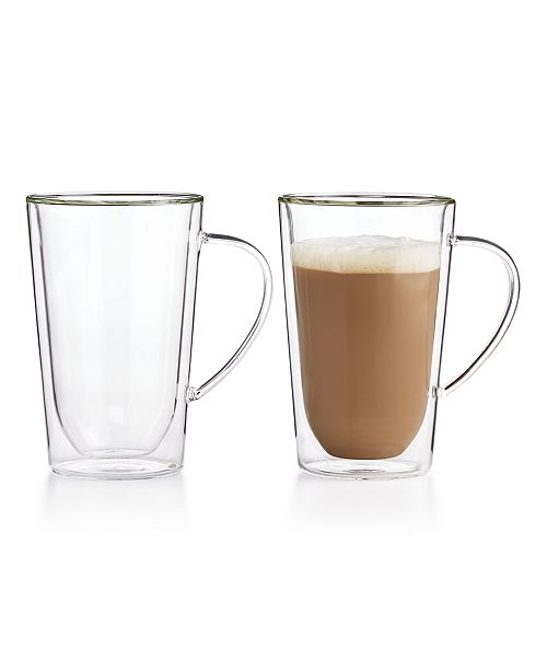 Hotel Collection Set of 2 Latte Mugs, Created for Macy's