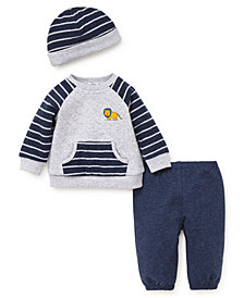 Little Me Baby Boys Lion Pant Set with Hat