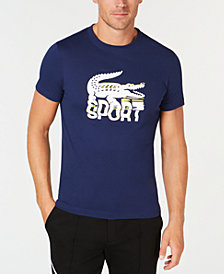 Lacoste Men's Logo Print Tennis T-Shirt