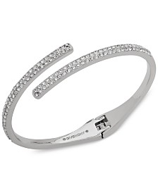 Givenchy Crystal Bypass Bangle Bracelet