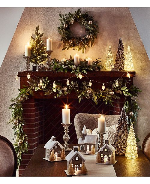 Martha Stewart Collection Martha Stewart Woodland Frost Collection, Created For Macy's
