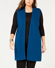 Alfani Long Sweater Vest, Created for Macy's