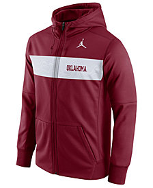 Nike Men's Oklahoma Sooners Performance Sideline Hooded Sweatshirt