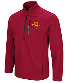 Colosseum Men's Iowa State Cyclones Advantage Quarter-Zip Jacket