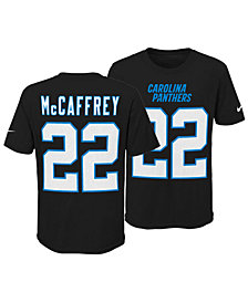 Nike Christian McCaffrey Carolina Panthers Pride Name & Number 3.0 T-Shirt, Big Boys (8-20)
