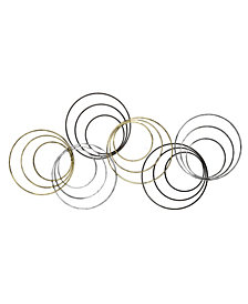 Wylber Rings Metal Wall Art