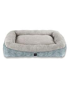 Nicole Miller Comfy Pooch Dog Bolster Bed Pillow Bottom