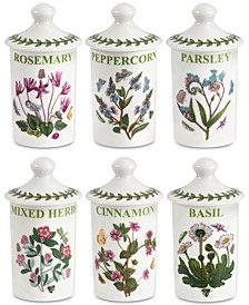 Botanic Garden 6-Pc. Spice Jar Set