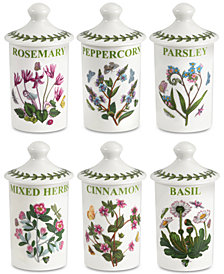 Portmeirion Botanic Garden 6-Pc. Spice Jar Set