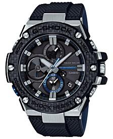 Men's Solar Black Resin Strap Watch 58.3mm