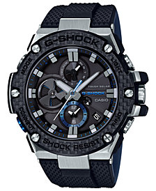 G-Shock Men's Solar Black Resin Strap Watch 58.3mm
