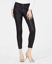 Kut from the Kloth Connie Metallic Ankle Jeans