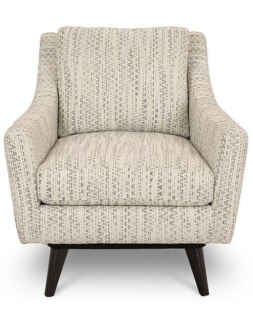Super Cistella 31 Fabric Accent Swivel Chair Created For Macys Machost Co Dining Chair Design Ideas Machostcouk