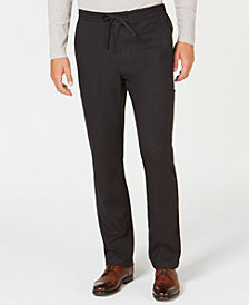 Tasso Elba Men's Masero Drawstring Pants, Created for Macy's