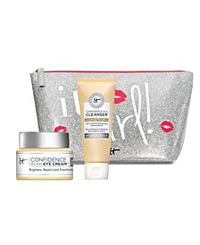 Receive a FREE Confidence Collection Duo & Cosmetics Bag with any $50 purchase!
