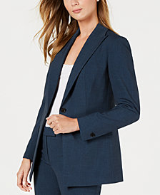 Blue Womens Suits Macy S