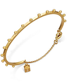 kate spade new york Gold-Tone Studded Bracelet