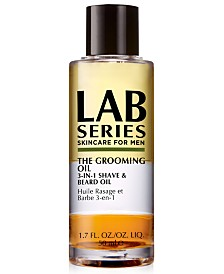 Lab Series The Grooming Oil 3-In-1 Shave & Beard Oil, 1.7-oz.