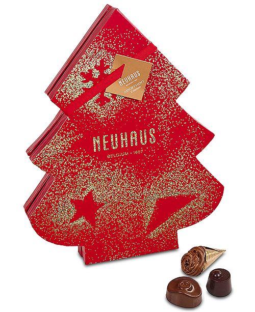 Holiday Belgian Chocolate Christmas Tree Gift Box