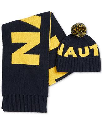 Nautica Men s Logo Scarf   Hat - All Accessories - Men - Macy s fef60c4b142