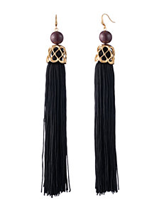 Trina Turk Statement Tassel Earrings
