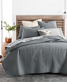 CLOSEOUT! Lucky Brand Vintage Wash Coverlet Collection