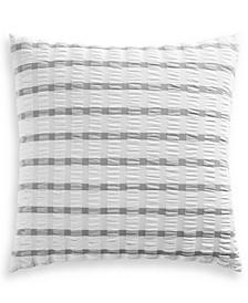 Seersucker Cotton 150-Thread Count European Sham, Created for Macy's
