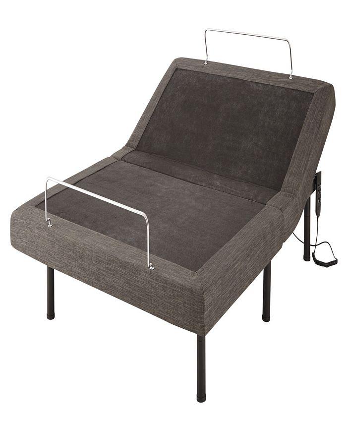 Ultima - Queen Grey Adjustable Wired Flex Bed Frame
