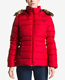 The North Face Gotham Faux-Fur Trimmed Jacket