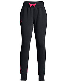 Under Armour Big Girls Fleece Jogger Pants