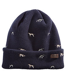 Barbour Men's Dog-Print Cap