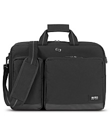 Solo Men's Duane Hybrid Briefcase