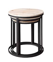 Layton Set of 3 Nesting Round Tables